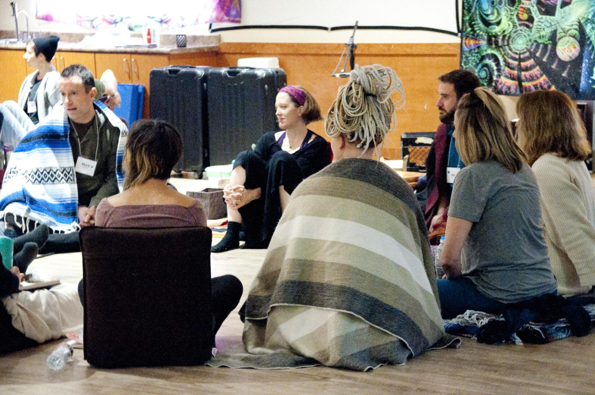 Psychedelic Sitters School | Medicinal Mindfulness | Colorado | Small Group Alison McQueen